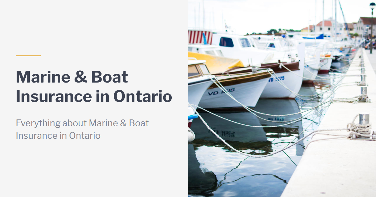 How to Find Affordable Insurance Coverage for Your Boat in ...
