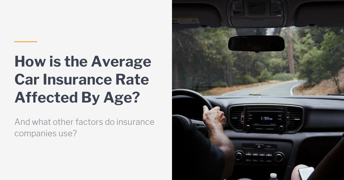 Are Average Car Insurance Rates Affected By Age