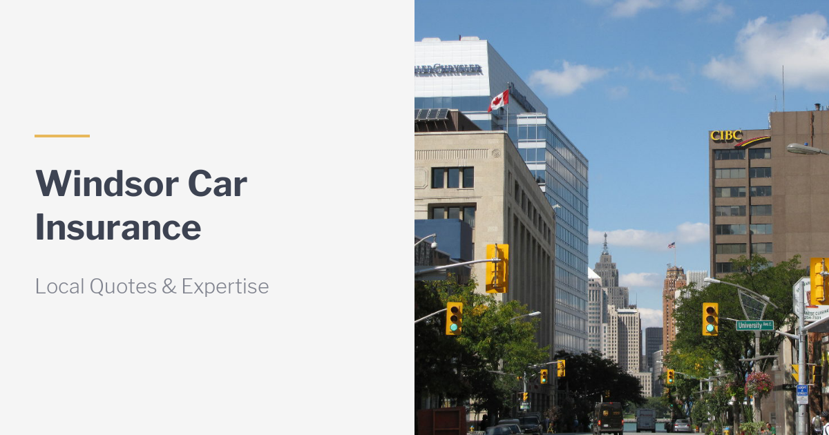 Toronto Auto Brokers >> Windsor Car Insurance Brokers. Compare Car Insurance Quotes