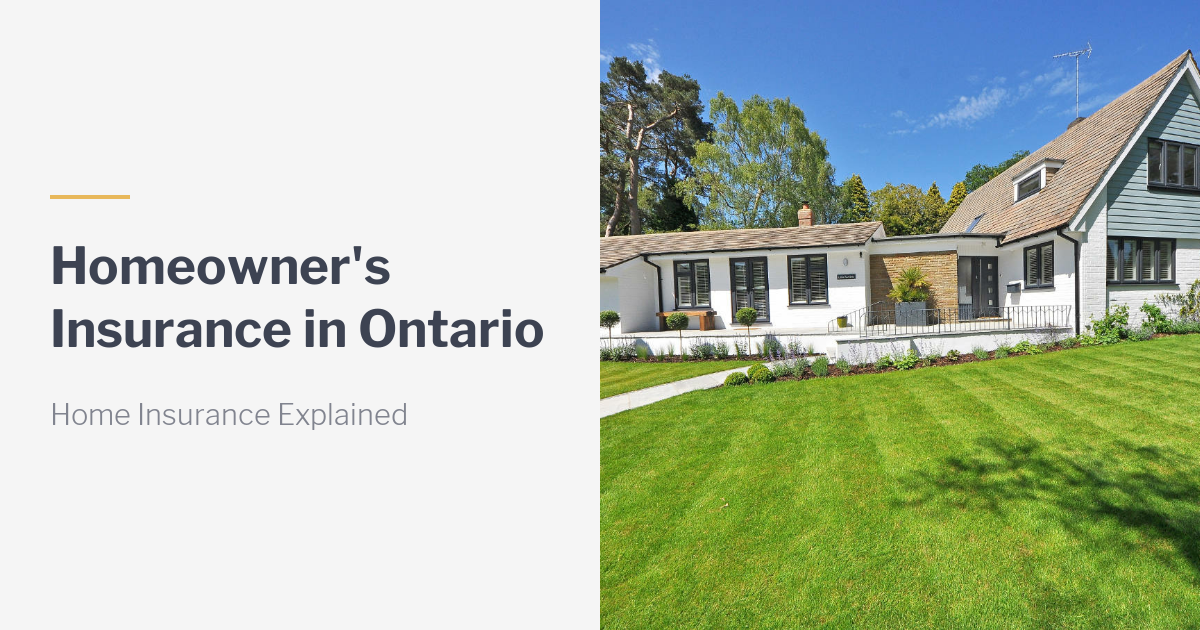 Find the Best Home Insurance Policy In Ontario with My Insurance Broker