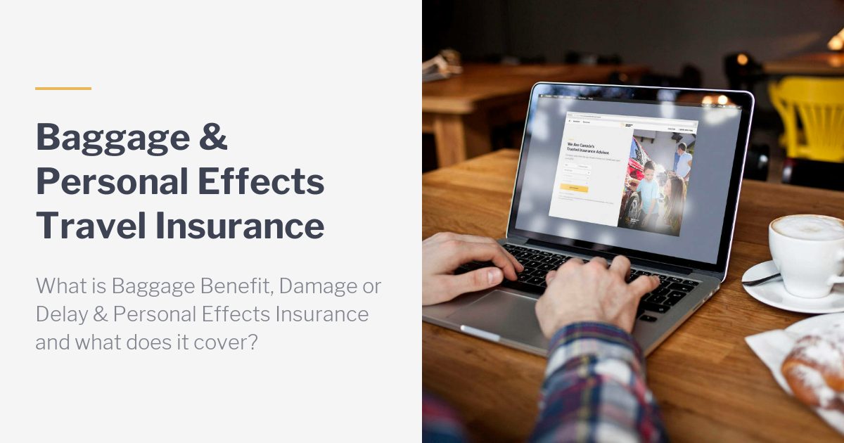 Baggage & Personal Effects Travel Insurance Add-On